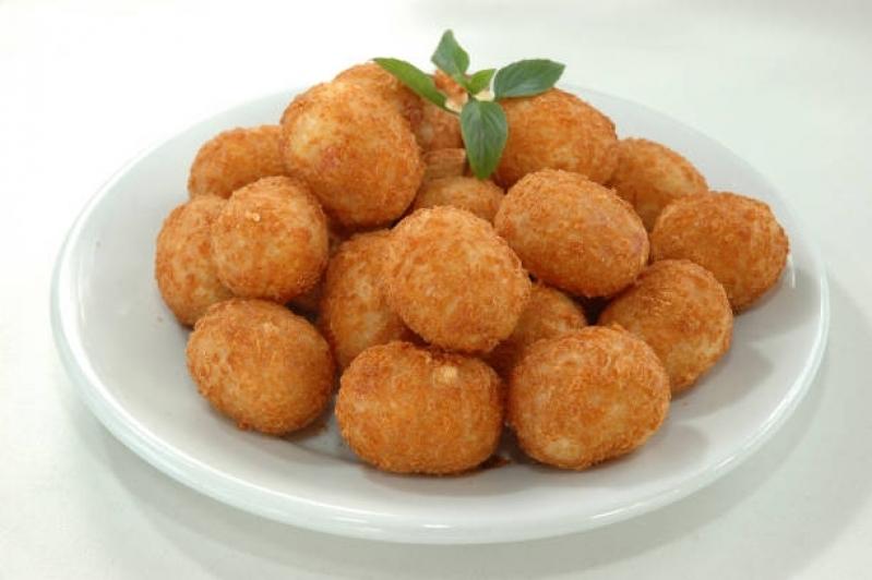 Mini Salgados Fritos