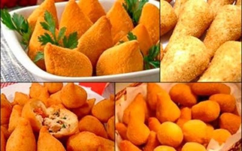 Salgados Fritos para Festa Santo André - Salgados para Festa Assados