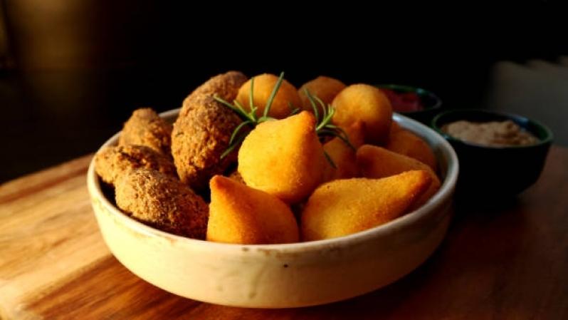 Salgados para Festa Infantil Orçamento Interlagos - Salgados Fritos para Festa