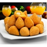 mini coxinhas frita Jockey Club
