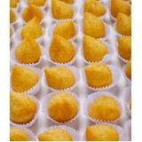 preço de mini coxinha de frango Morumbi